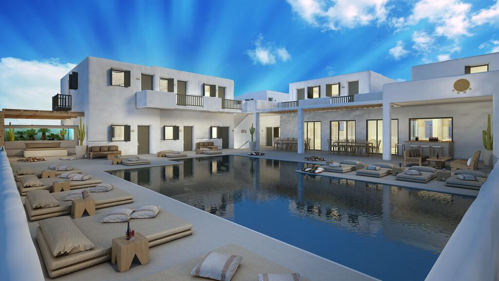 Koukoumi Vegan Hotel Mykonos, Sommer 2020
